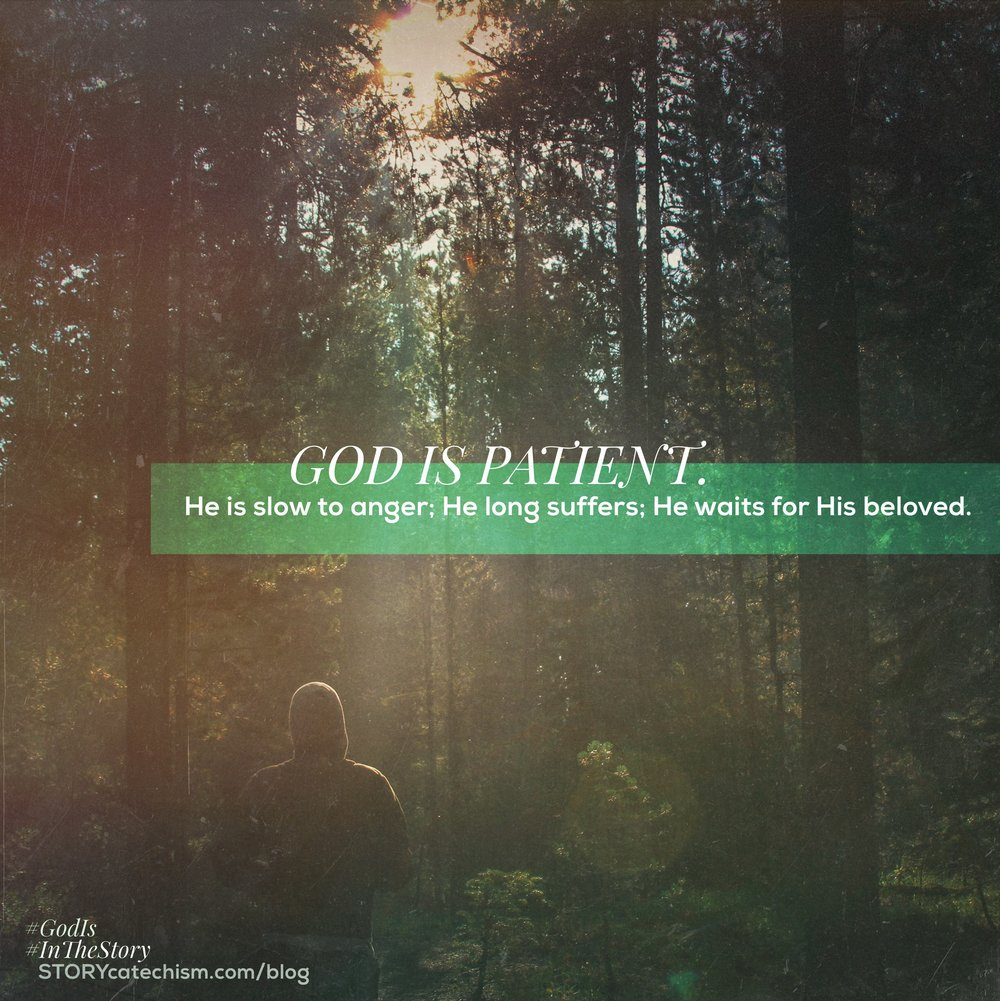 Image result for god is patient