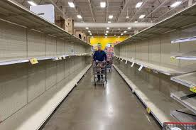 Coronavirus: Shoppers are finding empty shelves, long lines at ...
